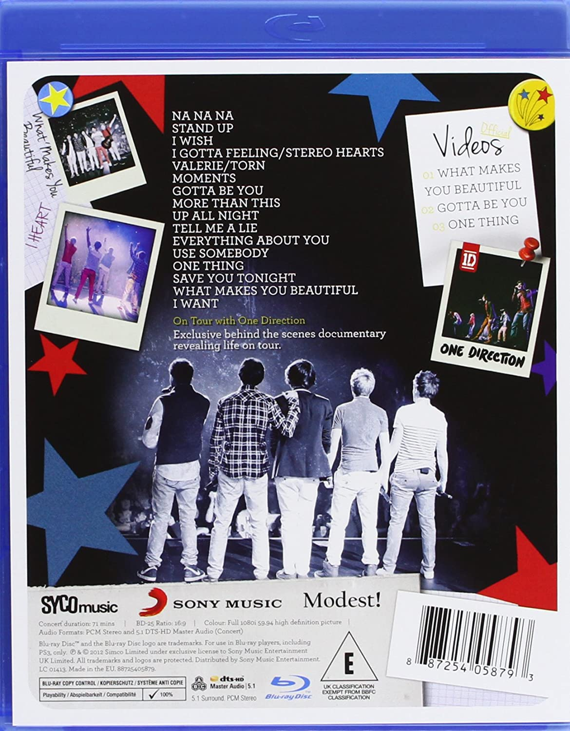 Up All Night - The Live Tour [DVD] [2013]: Amazon co uk: One