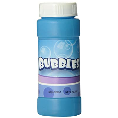 Rhode Island Novelty Bubble Bottles Assortment (12-Pack) - 2 oz: Toys & Games