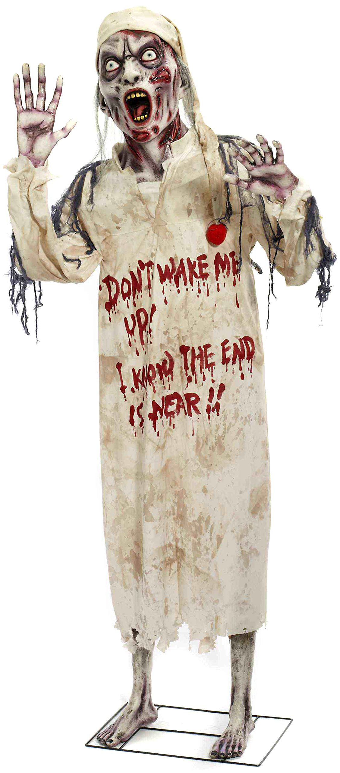 Forum Novelties Sleepy Zombie Standing Prop for Party Decoration, 6-Feet, Multicolor by Forum Novelties