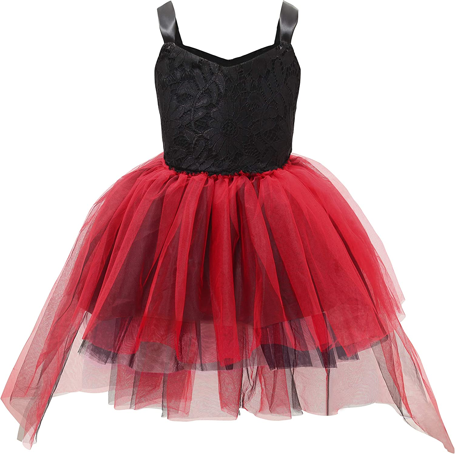 Girls Dress Shinning Sequins Tulle Layers Party Pageant Black Age 2-10 Years