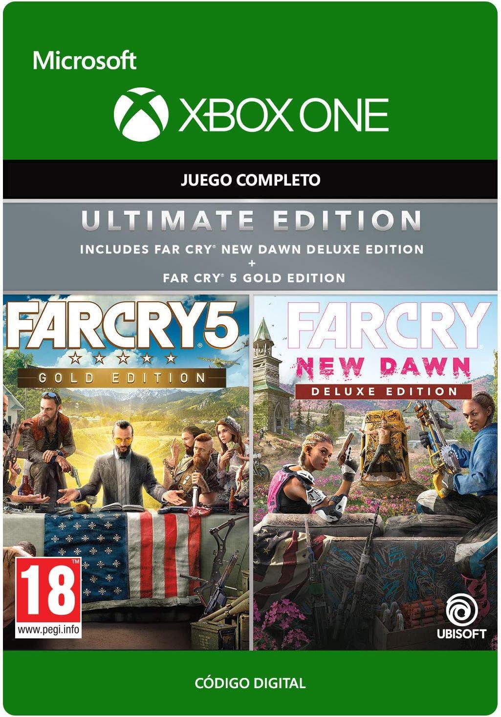 Far Cry New Dawn: Ultimate Edition | Xbox One - Código de descarga ...