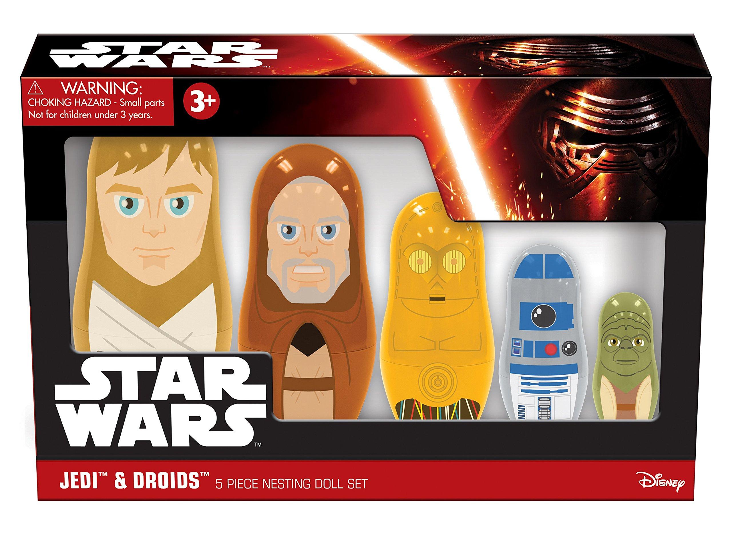 PPW Star Wars Nesting Dolls Jedi and Droids Toy by PPW