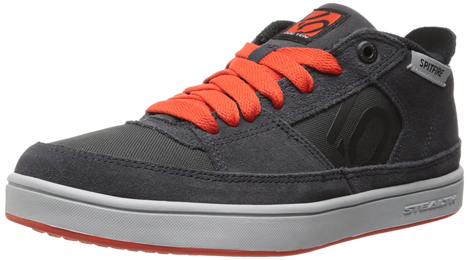 Five Ten Men's Spitfire Bike Shoe B00LHUGJDO 13 D(M) US|Dark Grey/Bold Orange