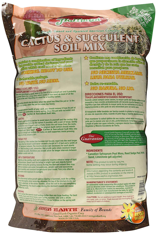 Amazon.com: Hoffman 10410 Organic Cactus and Succulent Soil ...