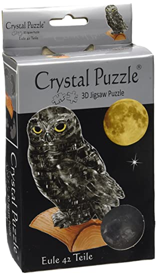 Eule 42 Teile 3D Crystal Puzzle Puzzles & Geduldspiele