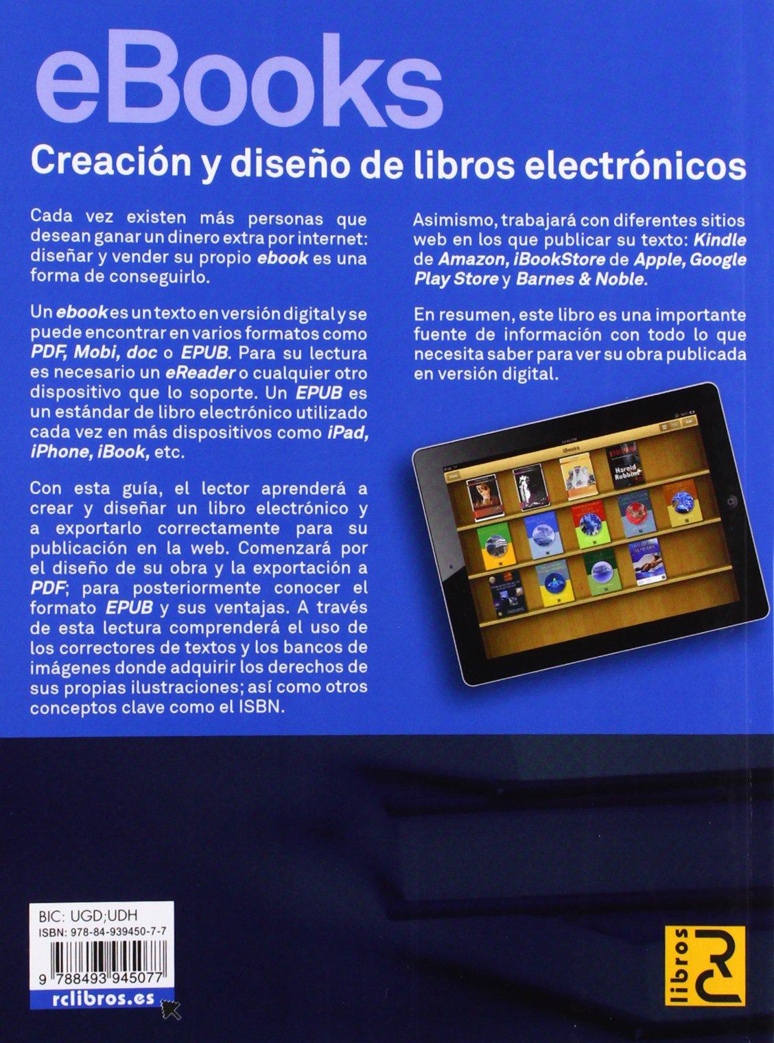 eBooks. Creación y Diseño de libros electrónicos: Amazon.es: María ...