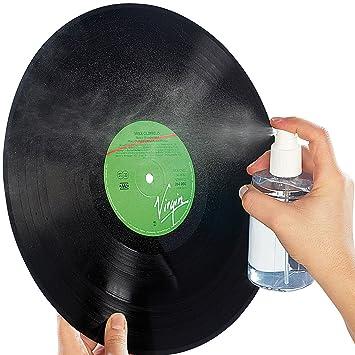 Dynavox sistema de limpieza de discos: 200 ml aerosol limpia ...