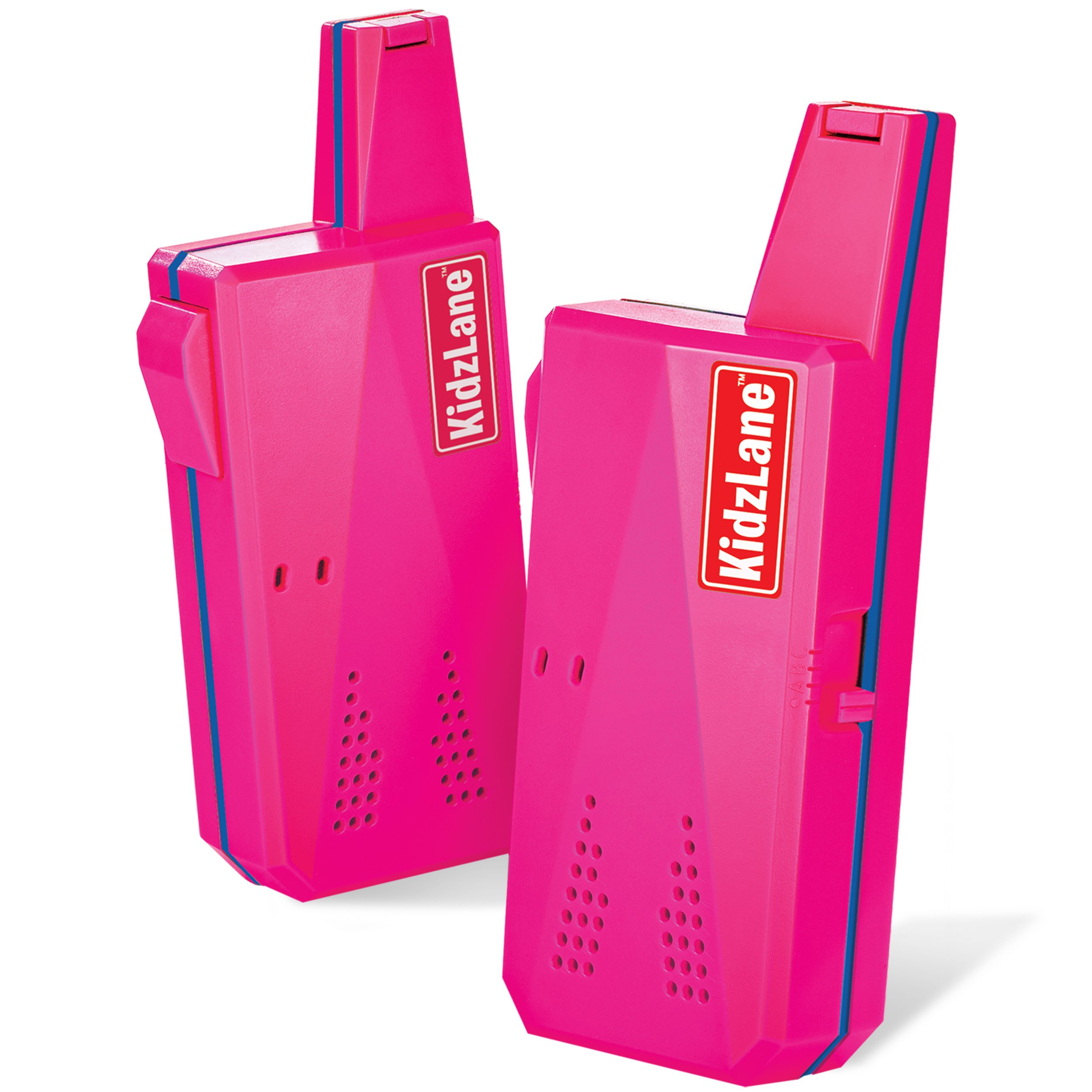 Kidzlane Durable Walkie Talkies for Girls, Easy To Use and Kids Friendly 2 Mile Range, 3 Channel