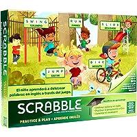 Mattel Games Scrabble Aprende inglés, juego de mesa