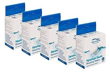 Cápsulas Aqualogis para descalcificar cafeteras Jura Krups F054 Bosch 311530 Delonghi EcoDecalk 30 Tablets: Amazon.es: Hogar