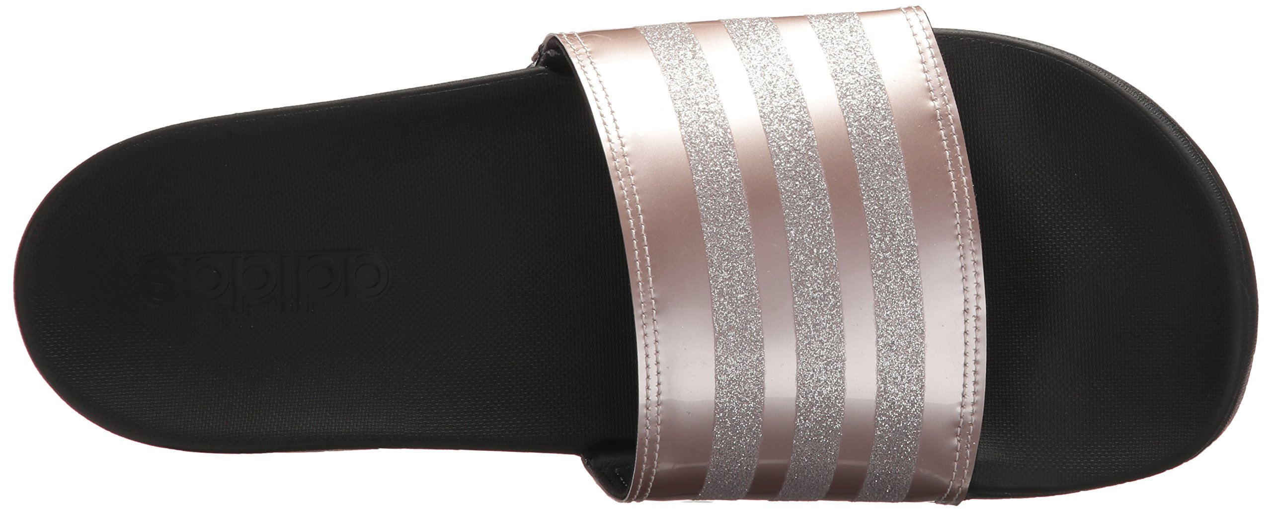 adidas Performance Women's Adilette CF+ Explorer W Sport Sandal, Vapour Grey Met, Vapour Grey Met.Fabric, Core Black, 9 M US by adidas (Image #8)