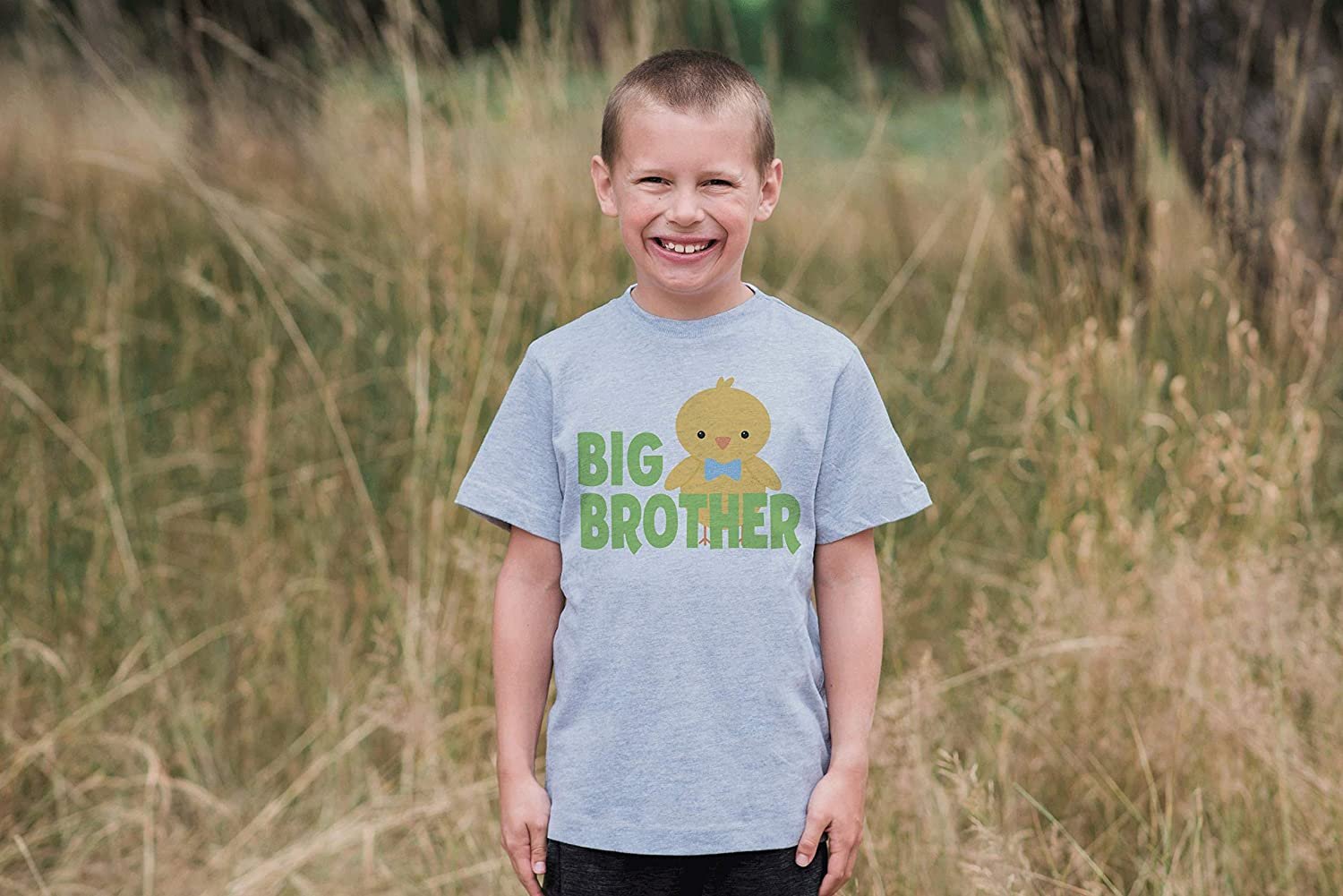 7 ate 9 Apparel Big Brother Boys Novelty Easter Tshirt