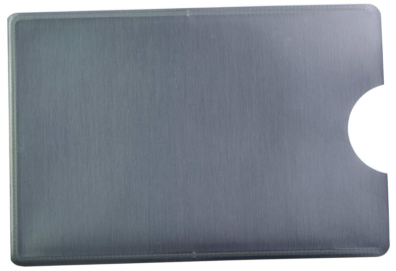 3X RFID Blocker Schutzh/ülle T/ÜV Gepr/üft Made in Germany Silber Anti Skimming EC Kartenh/ülle Kreditkarte NFC Schutz