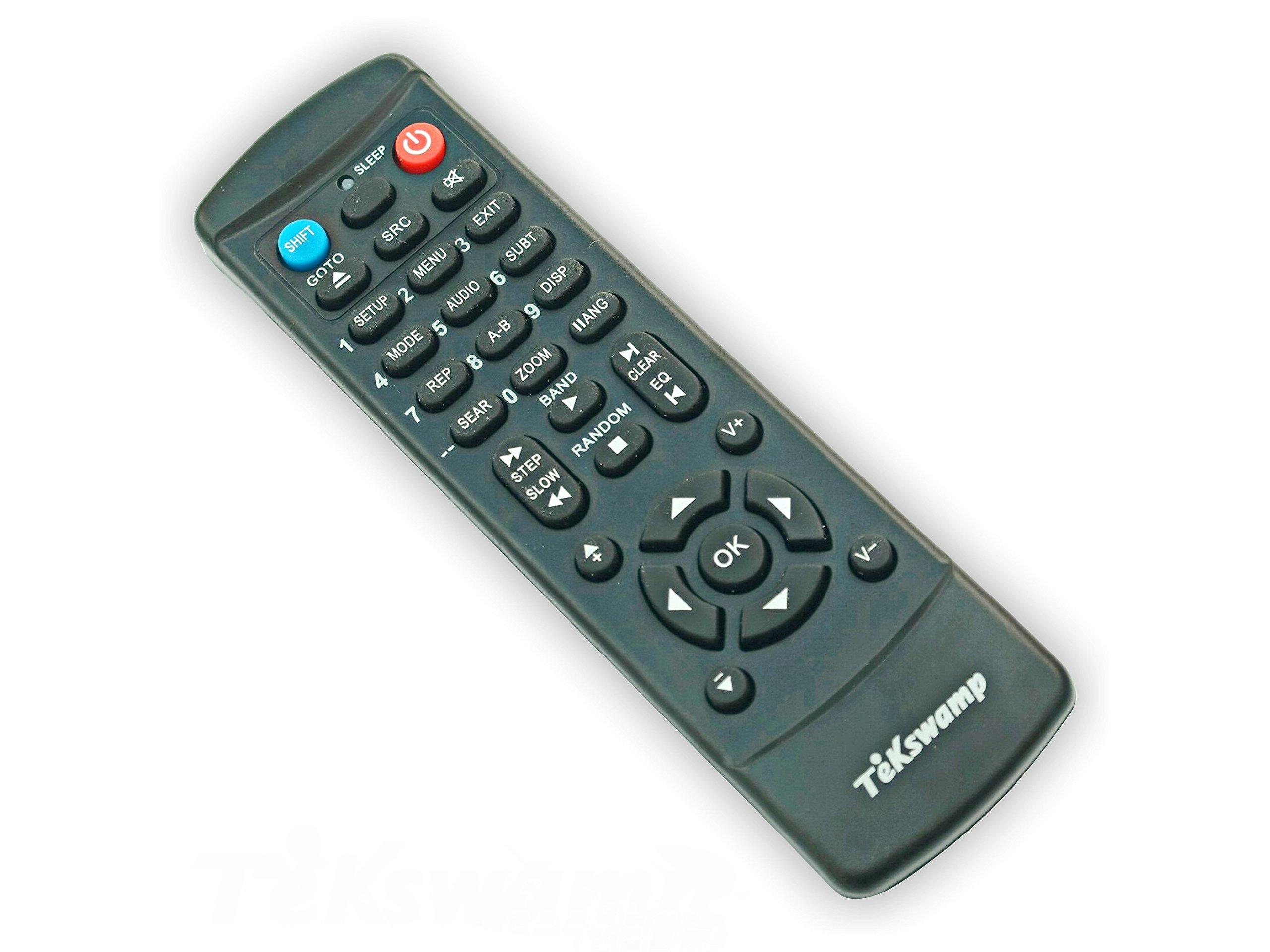 Toshiba SD-6100KU2 TeKswamp Remote Control by Tekswamp (Image #4)