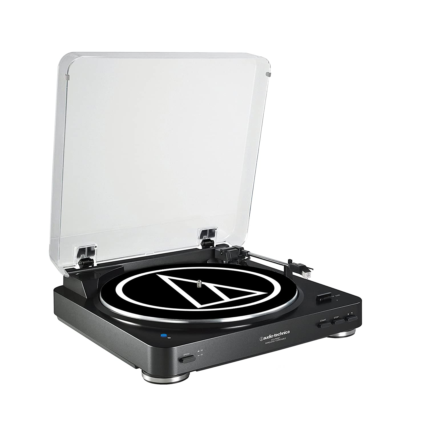 Audio-Technica Belt-Drive Stereo Turntable AT-LP60BK-BT