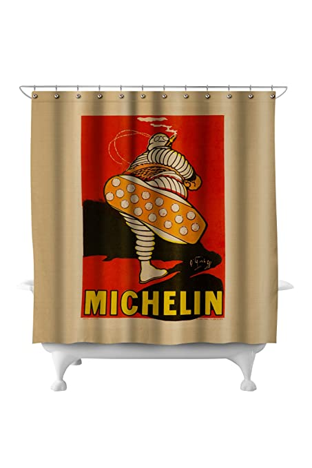 Amazon com: Michelin (kicking) Vintage Poster (artist: O