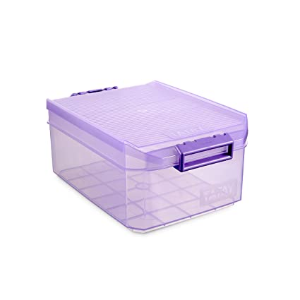 Tatay 1150213 Caja Multiusos, 4,5 l, Ciruela, 29.7x19.2x12