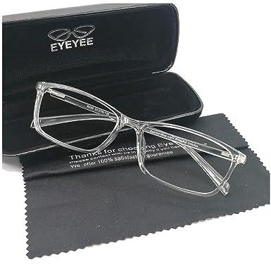 e202ec70e526 Computer Glasses Blue Light Blocking Reader Gaming Screen Digital Eyeglasses  Anti Glare Eye Strain Transparent Lens