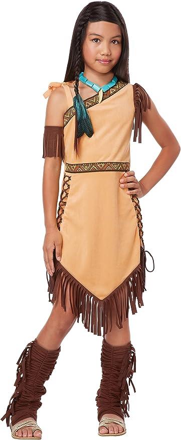 Thanksgiving Indian Princess Wildflower Native American Child Costume