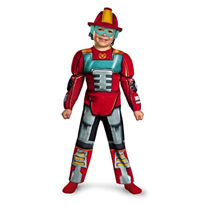 Disguise Inc Unisex Child Transformers Heatwave Muscle Toddler Costume: Toys & Games