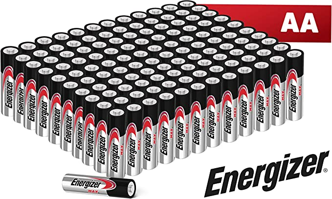 Energizer ® - Pack de 120 Pilas alcalinas MAX LR06 AA, 50% más de ...