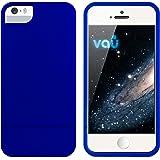 vau Snap Case Slider - matte blue - zweigeteiltes Hard-Case für Apple iPhone 5 & iPhone 5S