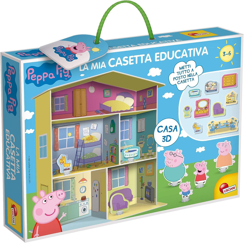 Lisciani Giochi – 77953 Juego para niños Peppa Pig, Casa Educativa: Amazon.es: Juguetes y juegos
