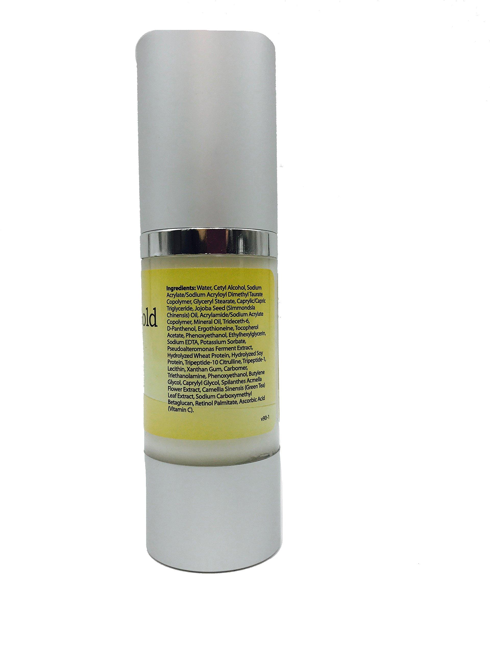 Glamor Gold Eye Serum- Best Under Eye Treatment For Fine Lines and Wrinkles