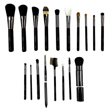 Amazon.com: iBeauty 18pc Mid Series Complete Makeup Brush Set ...
