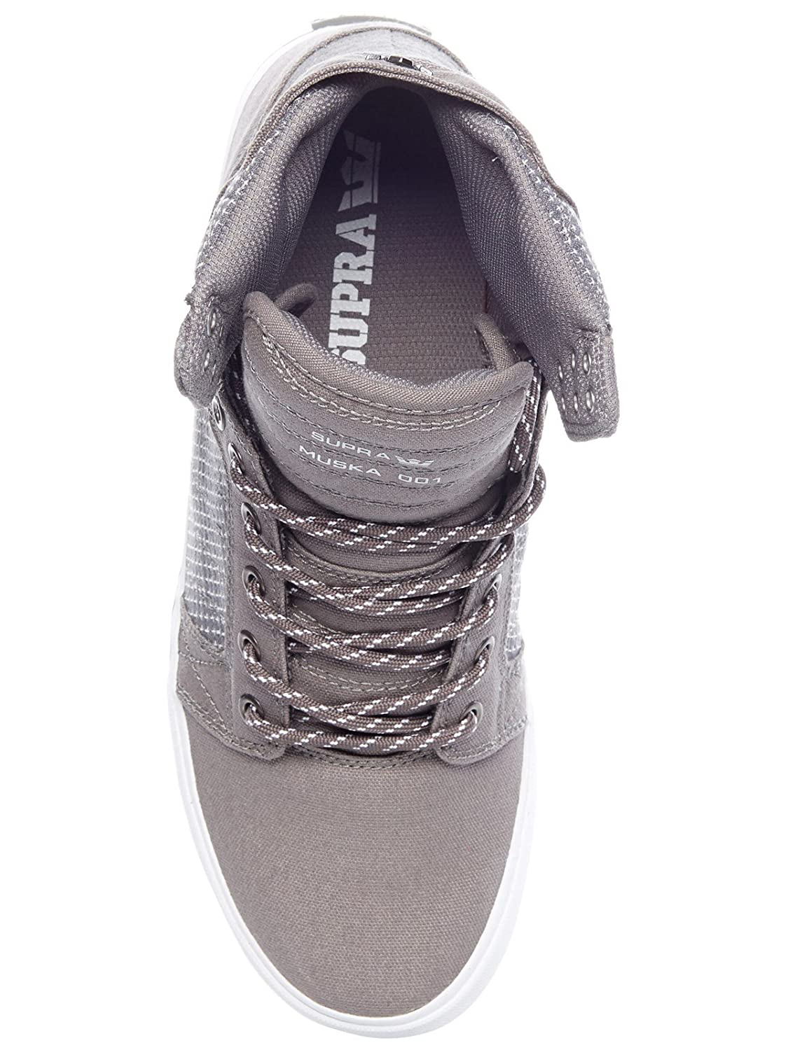Supra Men's US|Charcoal-white Skytop B074KK5WW2 11.5 M US|Charcoal-white Men's 6f62f4