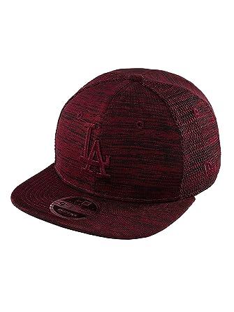 New Era Men Caps Snapback Cap Engineered Fit LA Dodgers 9Fifty red S M 072c93dc89