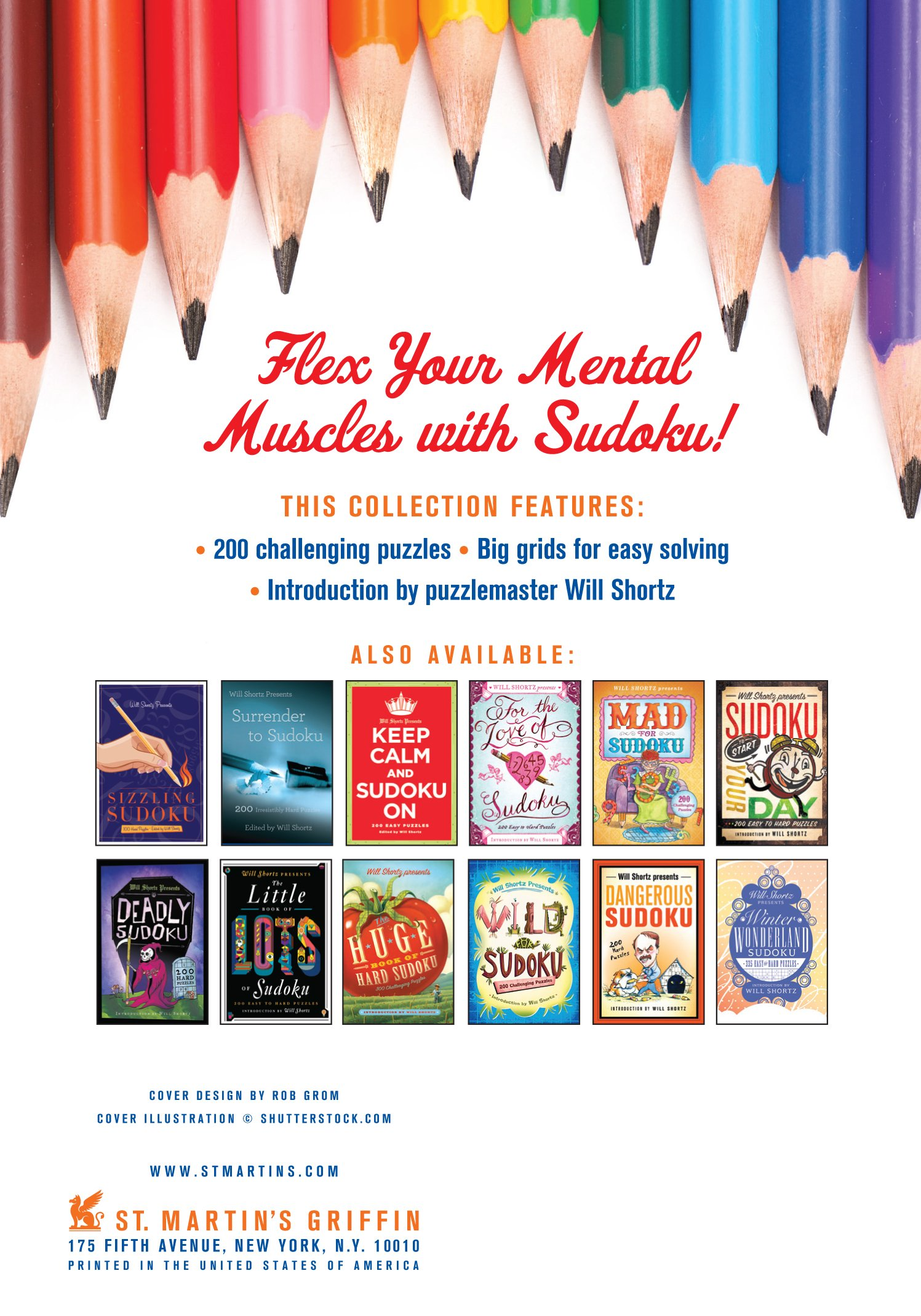 Will Shortz Presents Stay Sharp Sudoku: 200 Challenging Puzzles: Will Shortz:  9781250039217: Amazon.com: Books
