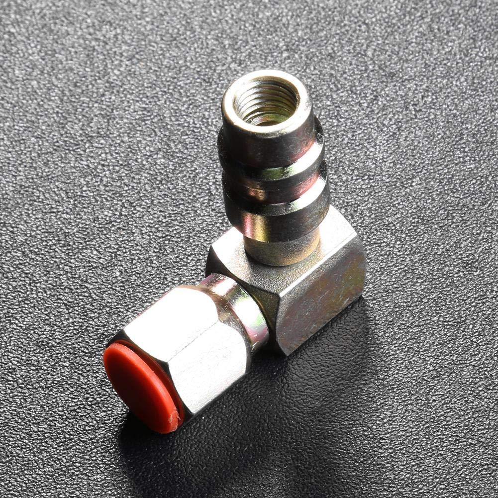 Broadroot A//C 7//16 Adaptateur de port de faible charge Adaptateur de retour de 90 degr/és R12 /à R134a