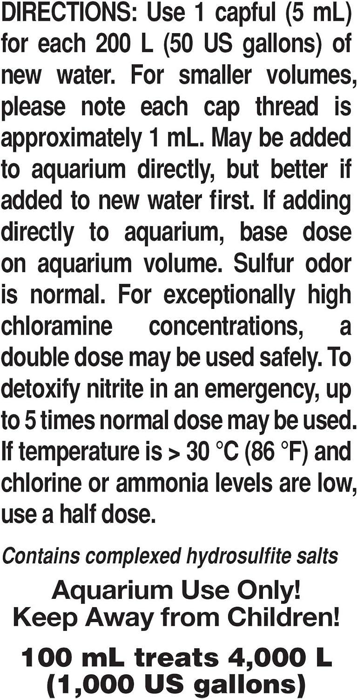Seachem Prime Acondicionador de Agua, 100 ml: Amazon.es: Productos ...
