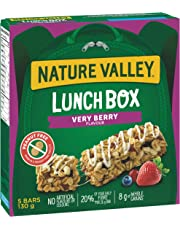 NATURE VALLEY Lunchbox Very Berry Granola Bars, 5-Count, 130 Gram