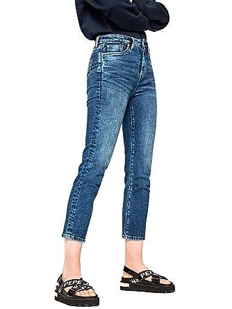 Pepe Jeans Pantalon Vaquero Dion CP1R para Mujer: Amazon.es ...