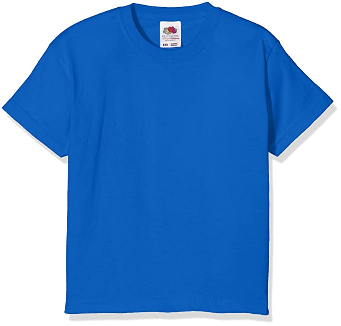 super popular 5c406 9b24a Fruit of the Loom Kids / Childrens Plain T Shirt, T-shirt, Tee Shirt