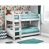Julian Bowen Domino White Bunk Bed