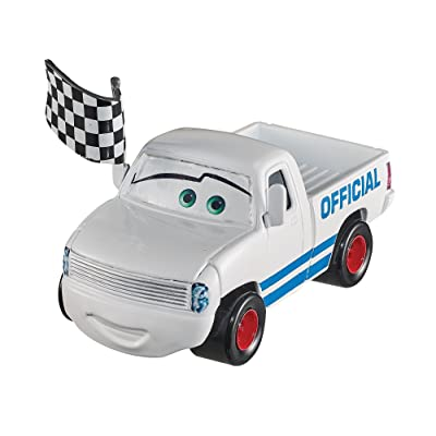 Disney Pixar Cars 3 Diecast Pickup Truck w/ Flag Vehicle: Toys & Games
