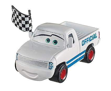 Amazon Com Disney Pixar Cars 3 Diecast Pickup Truck W Flag Vehicle