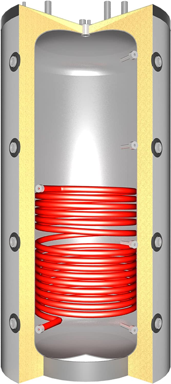 1 SWT La Nordica KS1774 Termosuprema Compact DSA Wasserf/ührender K/üchenofen Spar-Set Pufferspeicher TPSR 825