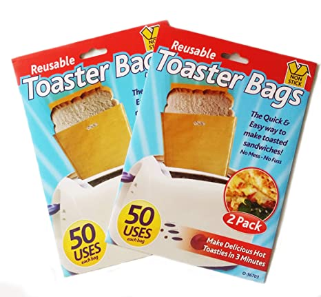 Amigo mundial tostadora bolsas para sandwich Pan tostadas ...
