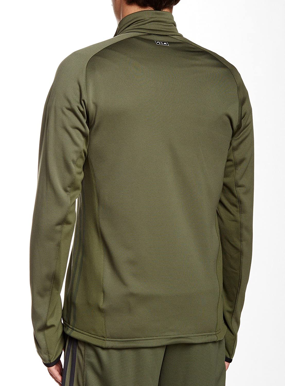 adidas Terrex Swift Hollow Mens Fleece Jacket Green 38 40