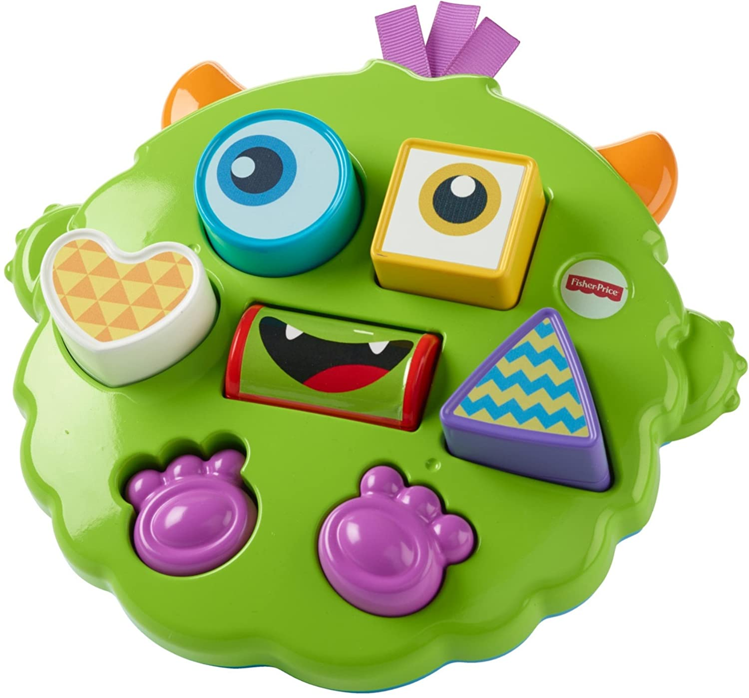 4a5985090 Fisher-Price DYM90 Silly Sortin' Monster Puzzle: Amazon.co.uk: Toys & Games