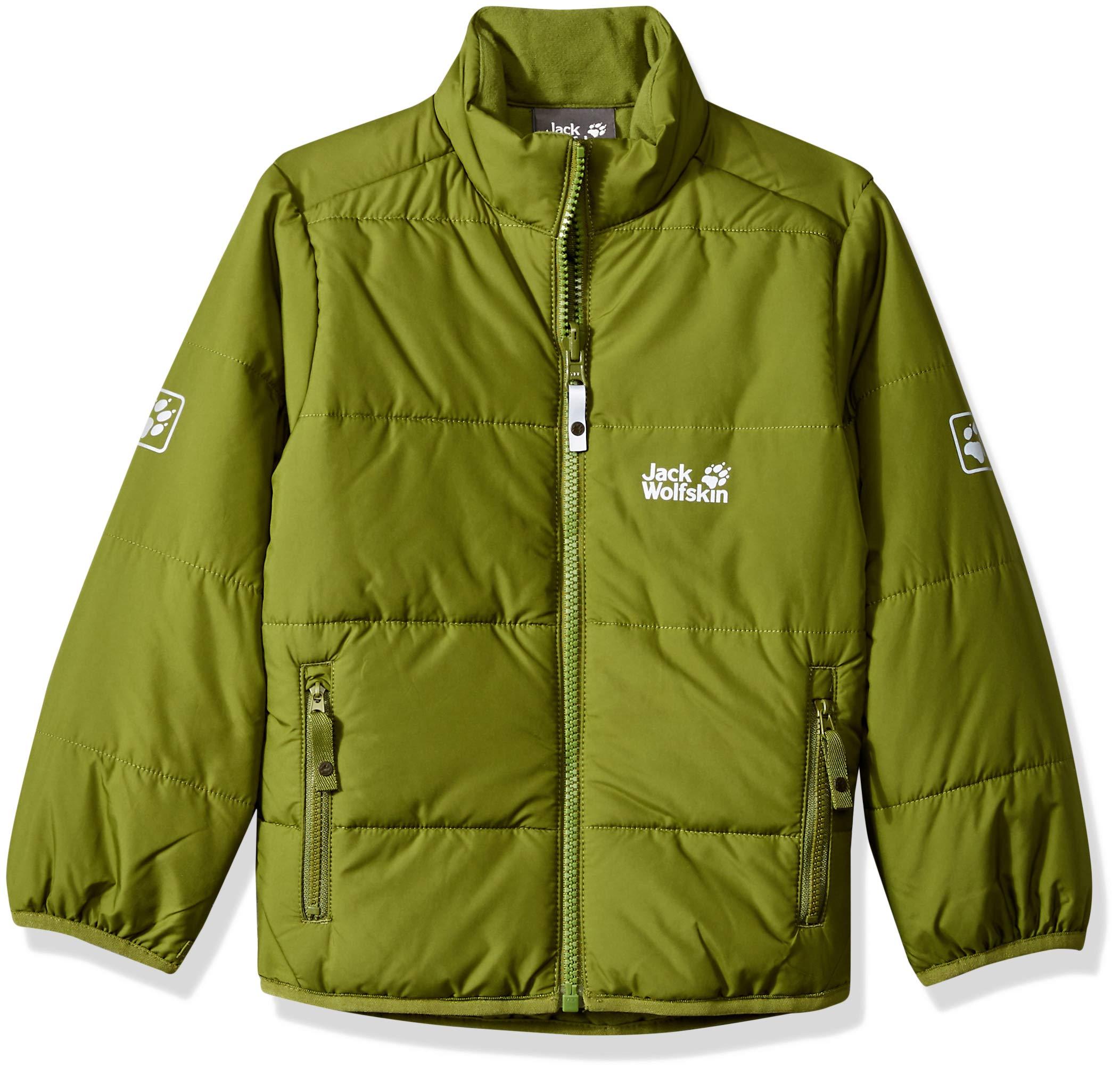 Jack Wolfskin Boy's Kokkola Jacket, Cypress Green, Size92(18-24)