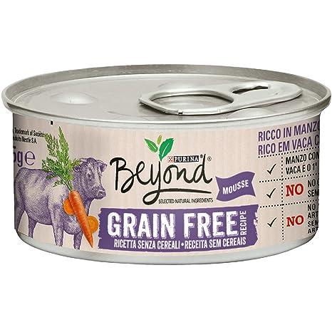 Beyond Purina Humido Gato Grain Free Rico en Carne con ...