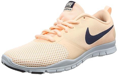 Nike - Wmns Flex Essential Tr, Zapatillas Deportivas para Interior Mujer, Naranja (Crimson