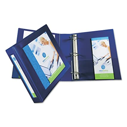 amazon com avery framed view binders with one touch 2 inch ezd