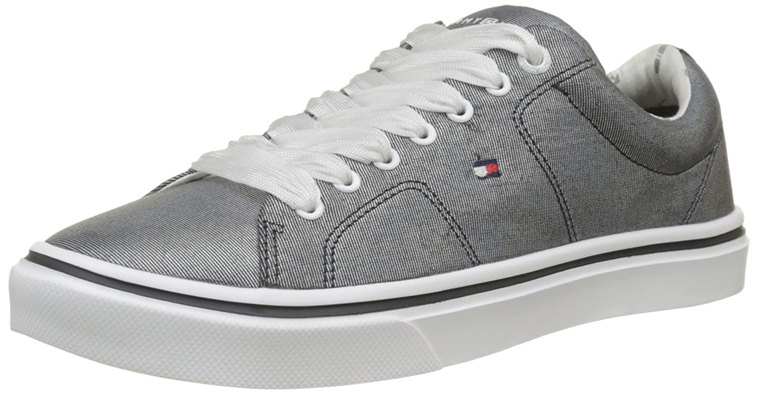 TALLA 37 EU. Tommy Hilfiger Metallic Light Weight Lace Up, Zapatillas para Mujer