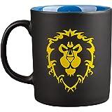World of Warcraft Cup Alliance Logo 325ml Ceramic black blue